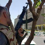 حمله تروریستی در تهران