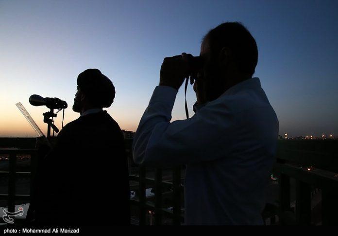 فرق الاستهلال تنتشرفي ايران والاثنين اول ايام العيد على الارجح