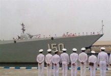 ورود ناوگروه نیروی دریایی چین به بندرعباس