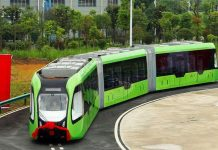 آغاز به کار اولین اتوبوس هوشمند در چین
