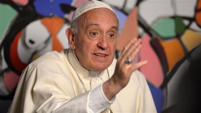 بابا الفاتيكان يدين الاعتداءات الارهابية بطهران