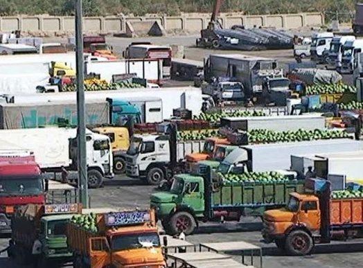 استئناف تصدير السلع الايرانية للعراق من منفذ مهران الحدودي