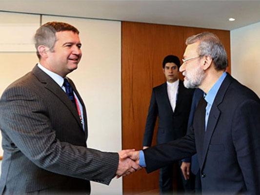 Ali Larijani -Jan Hamáček