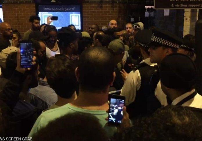 حمله تروریستی به نمازگزاران مسجدی در لندن