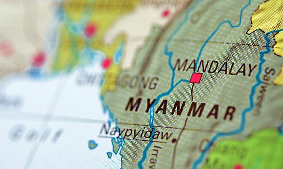 لاشه هواپیمای نظامی میانمار پیدا شد