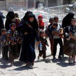 آزادسازی صدها غیرنظامی عراقی از موصل