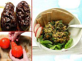 أكلات ايرانية... طبق الباذنجان
