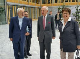 ظريف.. آن الاوان لتقوم ايران والمانيا بتعزيز علاقاتهما الاقتصادية