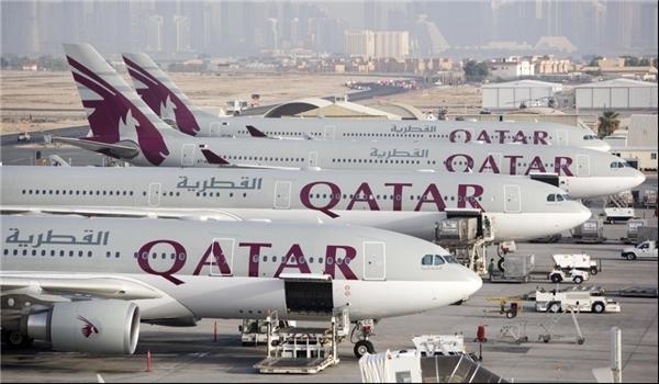 زيادة رحلات الخطوط القطرية عبر اجواء ايران بنحو 300 رحلة يوميا