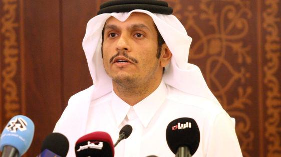 وزير الخارجية القطر