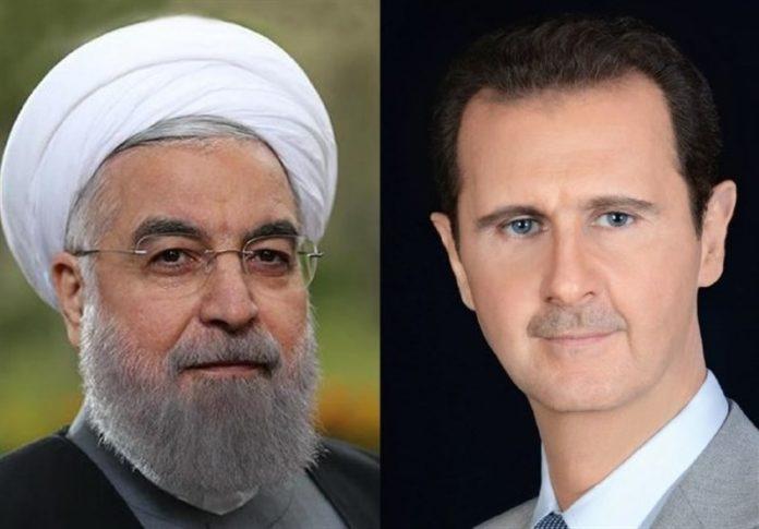 الرئيس الأسد يعزي إيران حكومة وشعباً