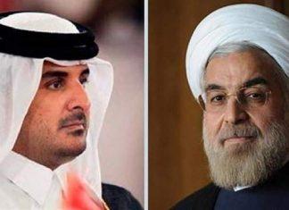 رسالة شفوية من الرئيس الإيراني لأمير قطر