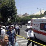 طهران ..الاعتداءات الارهابية تخلف عشرات الضحایا