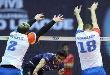 منتخب ايران يخسر امام نظيره الصربي بالدوري العالمي للكرة الطائرة