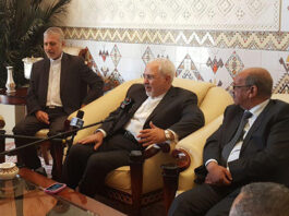Iran's Foreign Minister Arrives in Algeria