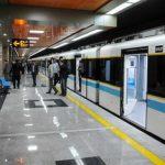 تدشين عشرات القاطرات في مترو الانفاق بطهران