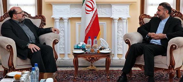 مسؤول ايراني .. مستعدون لإرسال الأدویة والفرق الطبیة لعلاج الجرحی الفلسطینیین