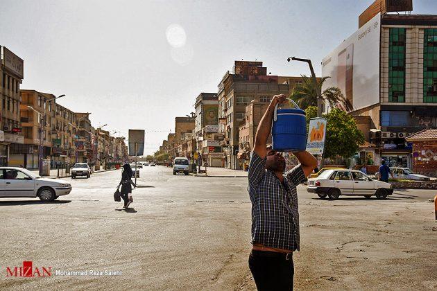 مدينة أهواز تحترق !1