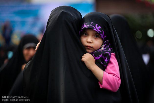 اليوم الوطني للعفاف والحجاب في ايران 1
