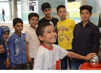 میزبانی باغ کتاب تهران از «کودکان کار»