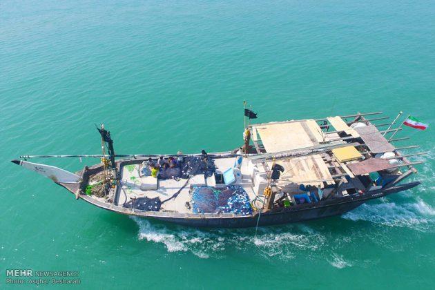 """احتفال """"نوروز الصياد"""" في جزيرة قشم الايرانية 1"""