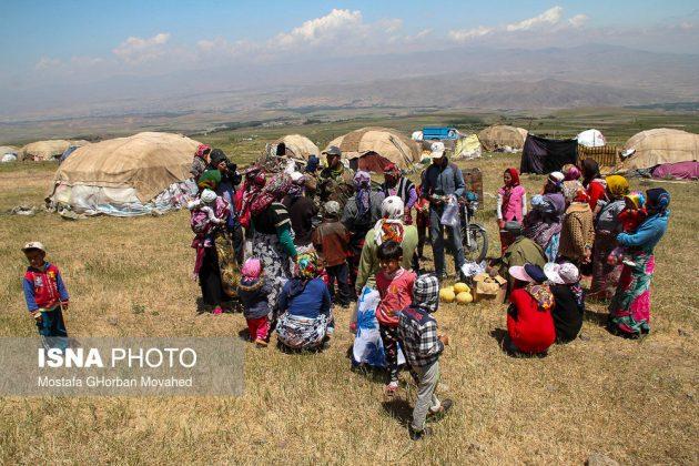 مصيف قوش غولو الساحر شمال غرب ايران