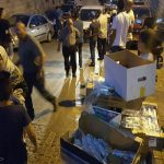 توزیع بستههای غذایی ایران در مسجدالاقصی