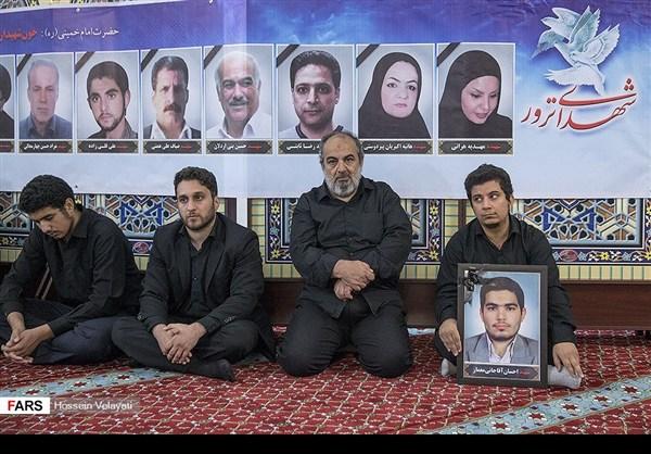 مجلس تأبين ضحايا الحادث الارهابي في البرلمان الايراني 10