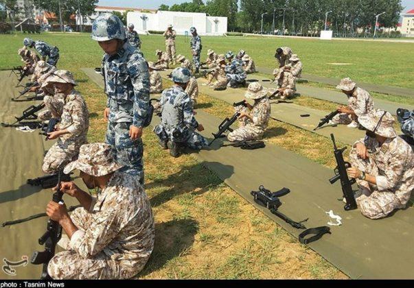 الحرس الثوري يجري تدريبات في الصين10