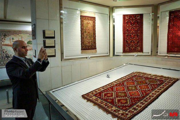 العتبة الرضوية تستضيف السفراء الاجانب لدى طهران 11