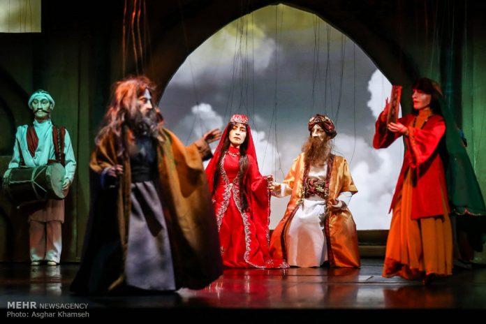 مسرحية أوبرا العرائس في طهران 11