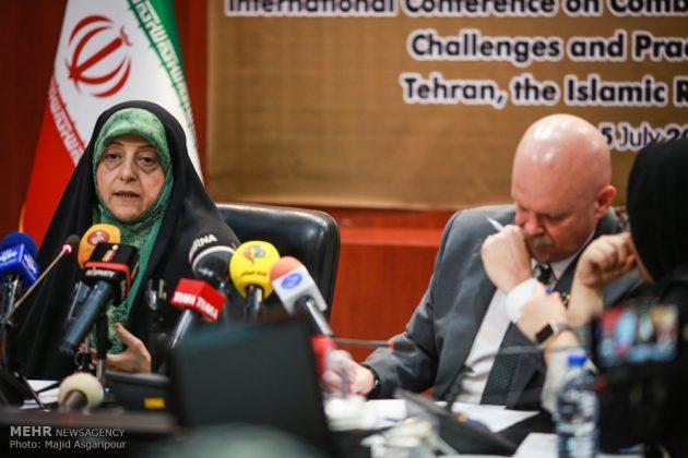 طهران .. مؤتمر مكافحة العواصف الترابية 11