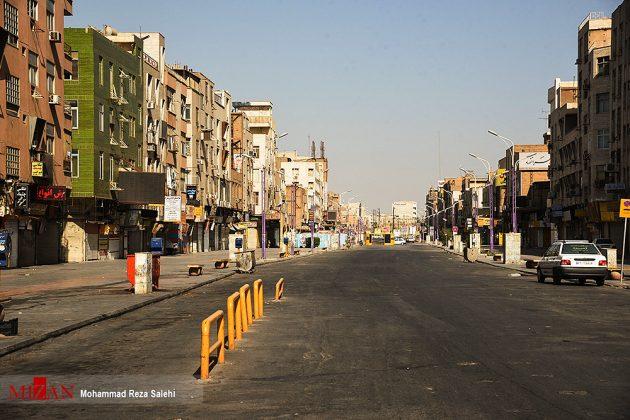 مدينة أهواز تحترق !12