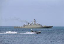 سلاح البحر الايراني يختتم مناوراته في بحر قزوين