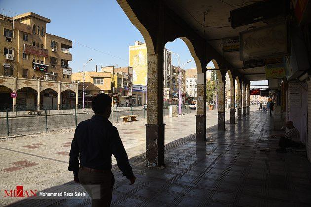 مدينة أهواز تحترق !13