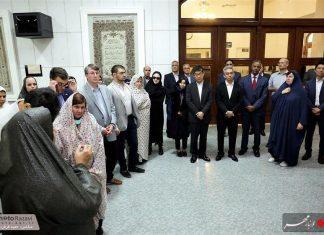 العتبة الرضوية تستضيف السفراء الاجانب لدى طهران 13
