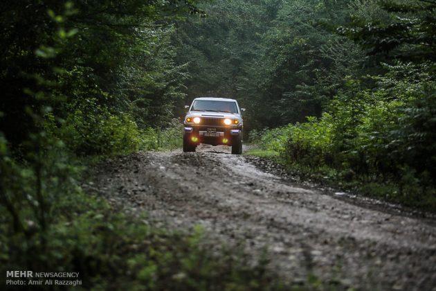 سباقات بطولة إيران للرالي فی غابات شمال ایران 13
