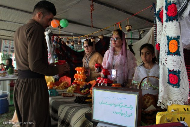 """مهرجان """"الكرز"""" في شمال غربي ايران13"""
