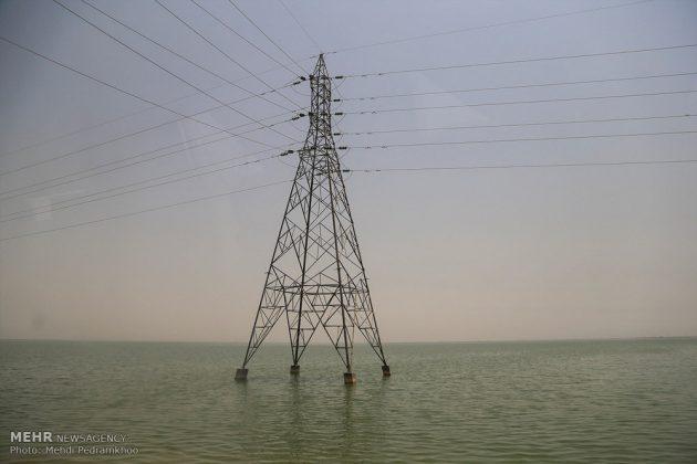 ضيوف ايران الأجانب يتفقدون مراكز تكوين العواصف الترابية13