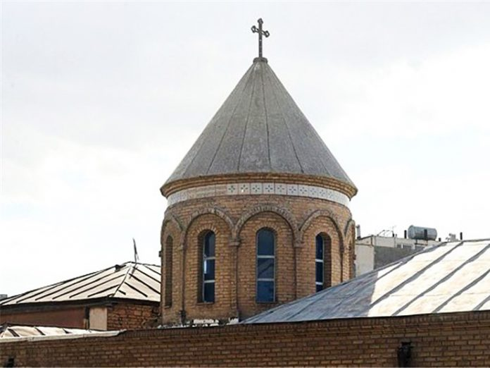ترميم كنائس في مدينة مشهد في ايران