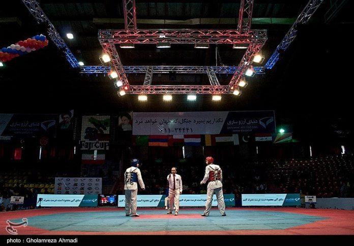 ايران تحتل المركز الثالث ببطولة العالم للتايكوندو 2017