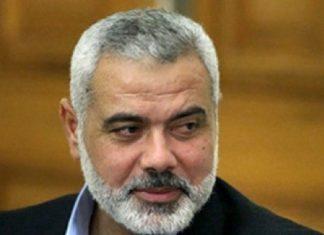 ممثل حماس بطهران ينقل رسالة من هنية الى الرئيس روحاني