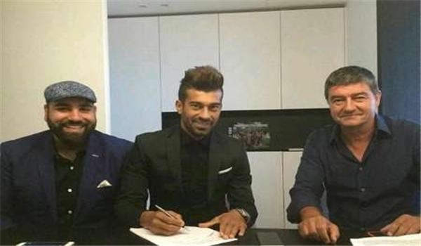 لاعب برسبوليس رامين رضائيان ينضم لصفوف نادي اوستندة البلجيكي