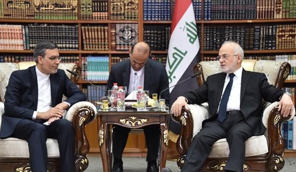 وزير الخارجية العراقي يثمّن دعم ايران لبلاده