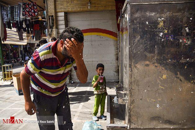 مدينة أهواز تحترق !14