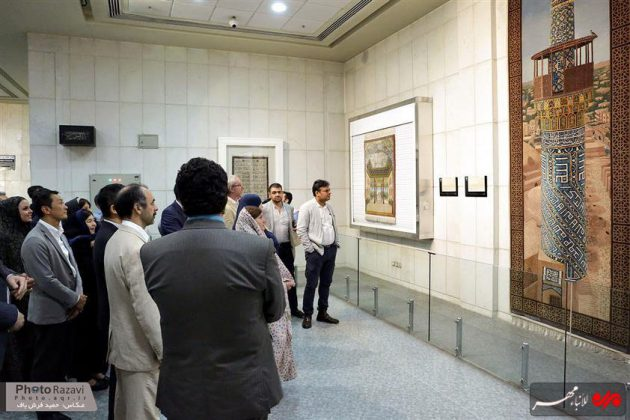 العتبة الرضوية تستضيف السفراء الاجانب لدى طهران 14