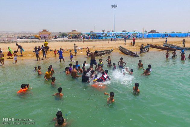 """احتفال """"نوروز الصياد"""" في جزيرة قشم الايرانية 14"""