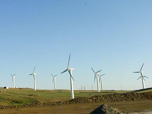 المانيا تبني محطة هوائية لتوليد الكهرباء بشمال شرق ايران