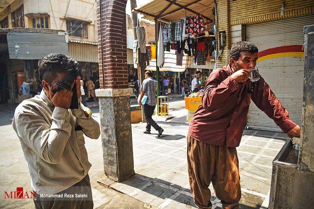 مدينة أهواز تحترق !16