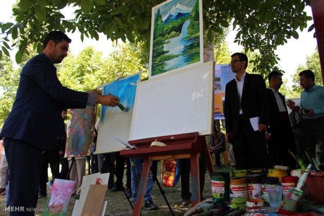 """مهرجان """"الكرز"""" في شمال غربي ايران17"""